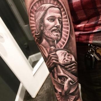 Tattoo by Bryan Ramirez.