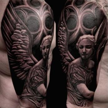 Tattoo by Carlos Rojas.