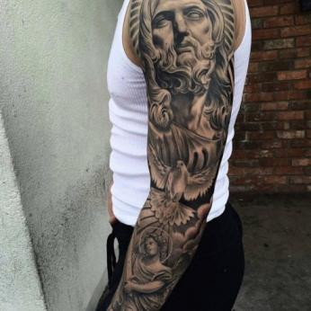 Tattoo by Gilbert Salas.