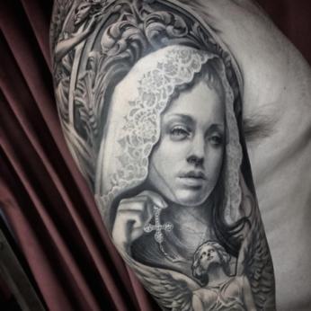 Tattoo by Jessica Cardoso.