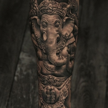 Tattoo by Miguel Ochoa.