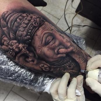 Tattoo by Orbis López.