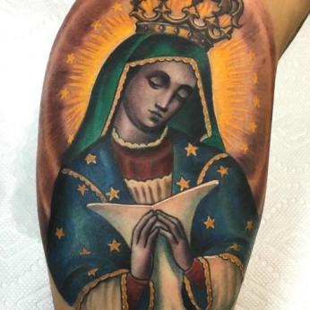 Tattoo by Rods Jimenez.