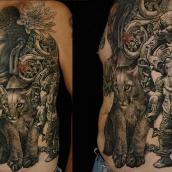 Tattoo by Sergio Sanchez.